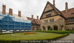 Schloss Cecilienhof / SPSG / Foto Stefanie Fiebrig