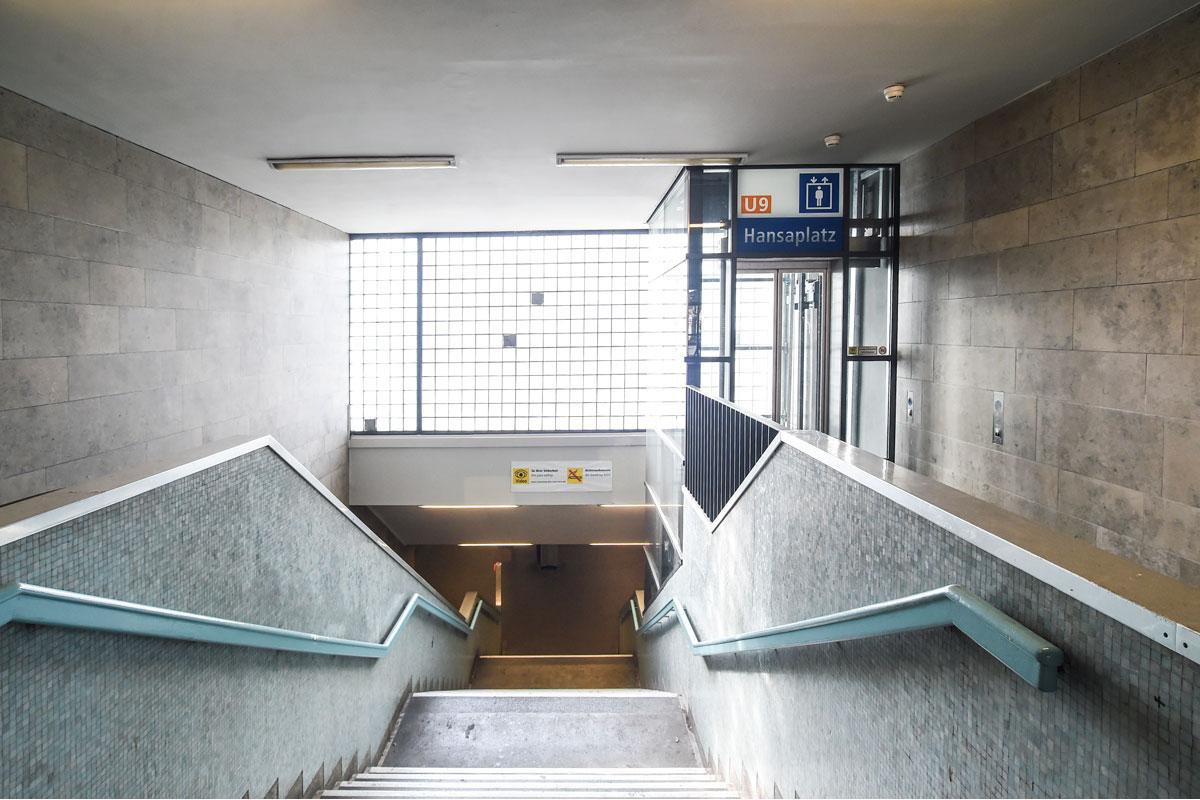 U-Bahnhof Hansaplatz