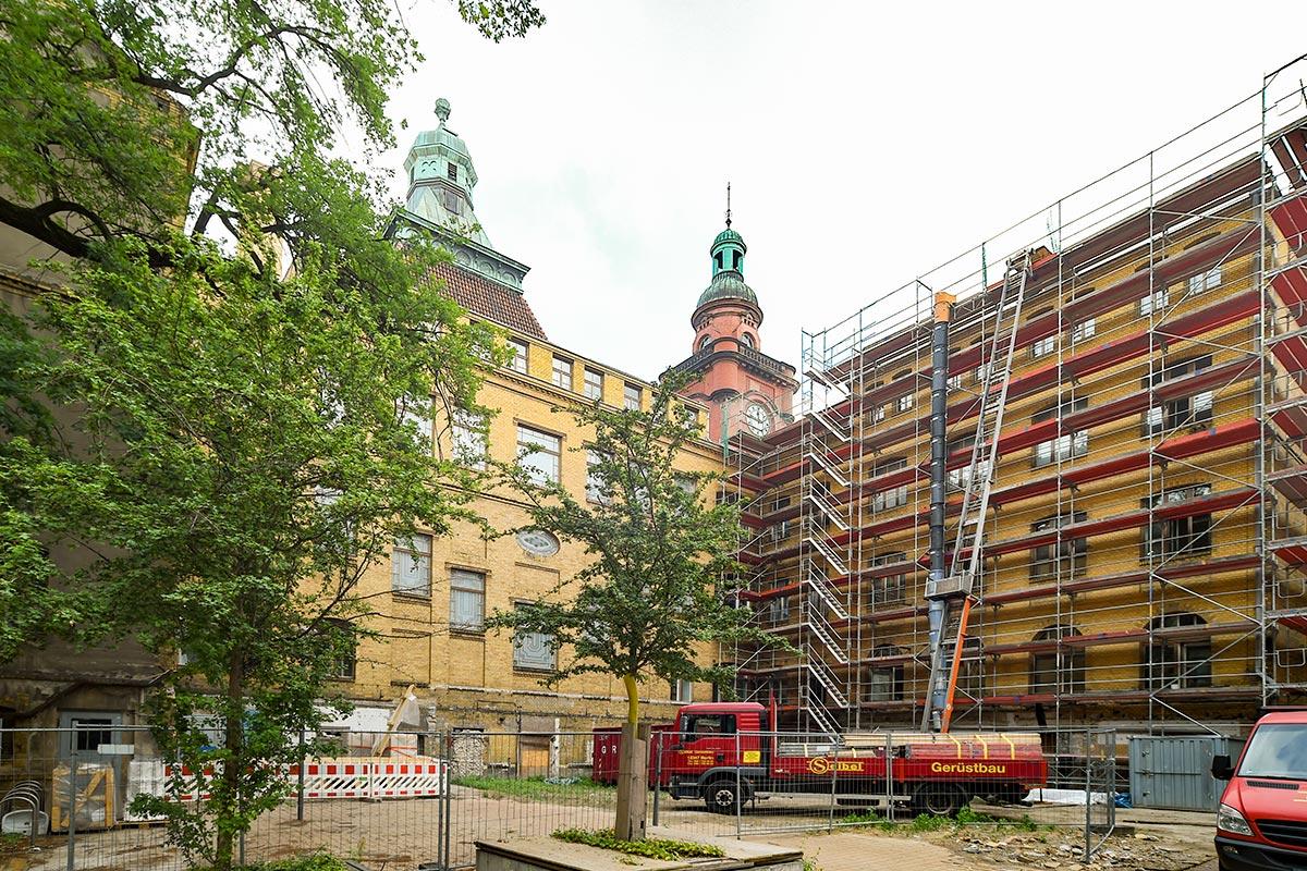 Wolfgang Bauer Ingenieurbau - Rathaus Pankow