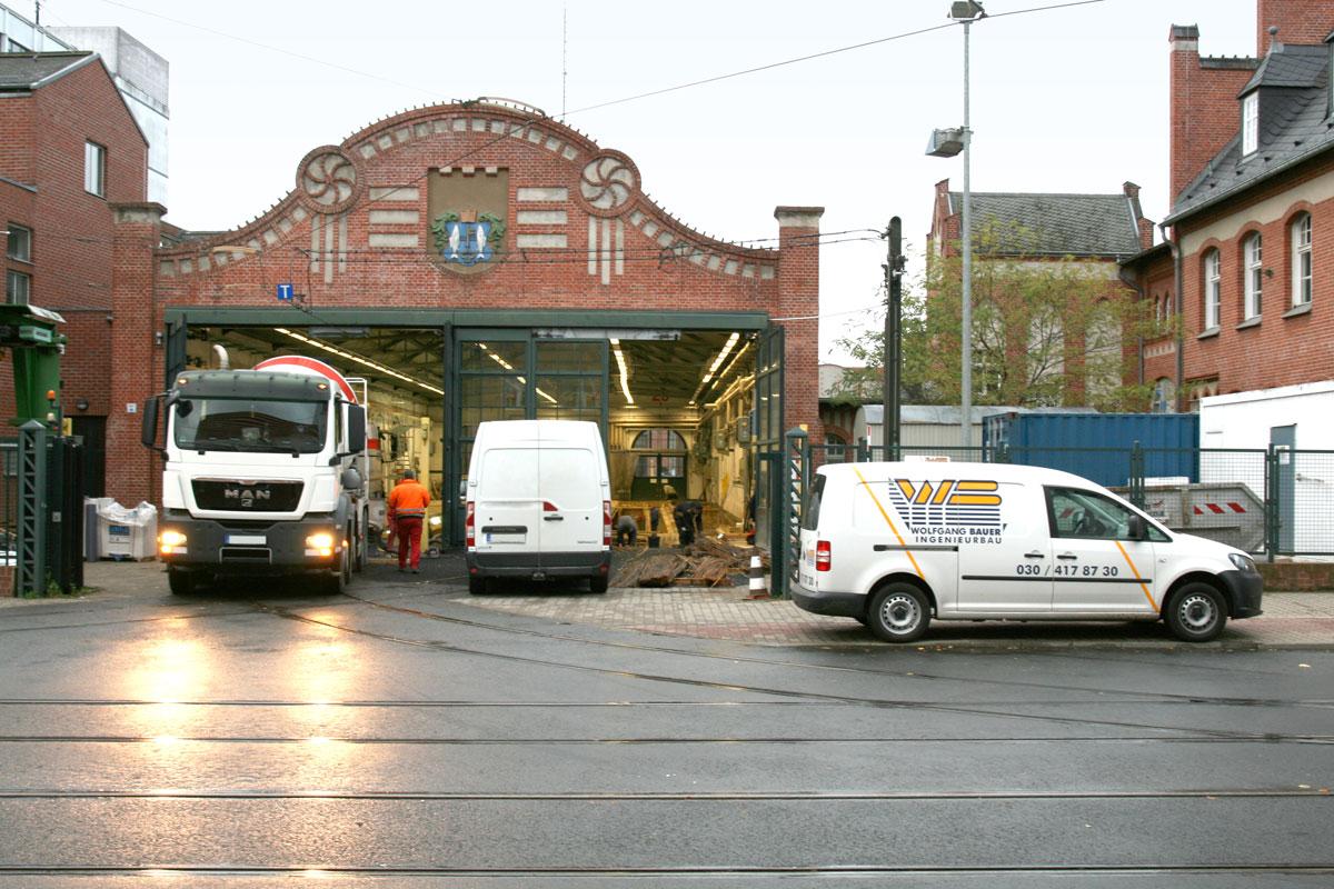 BVG Straßenbahnbetriebshof Köpenick