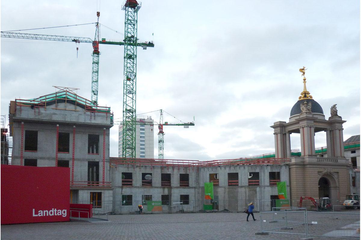 Landtag Brandenburg in Potsdam