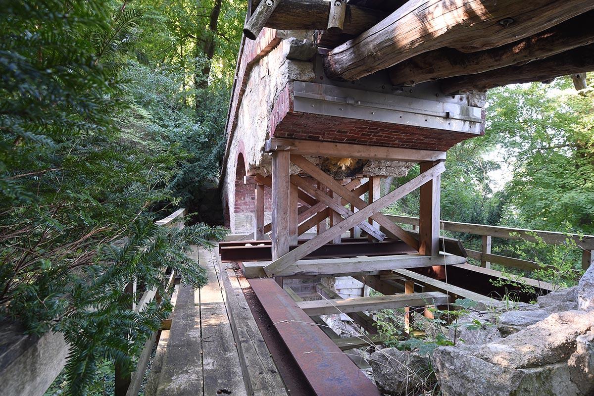 Teufelsbrücke Volkspark Klein-Glienicke