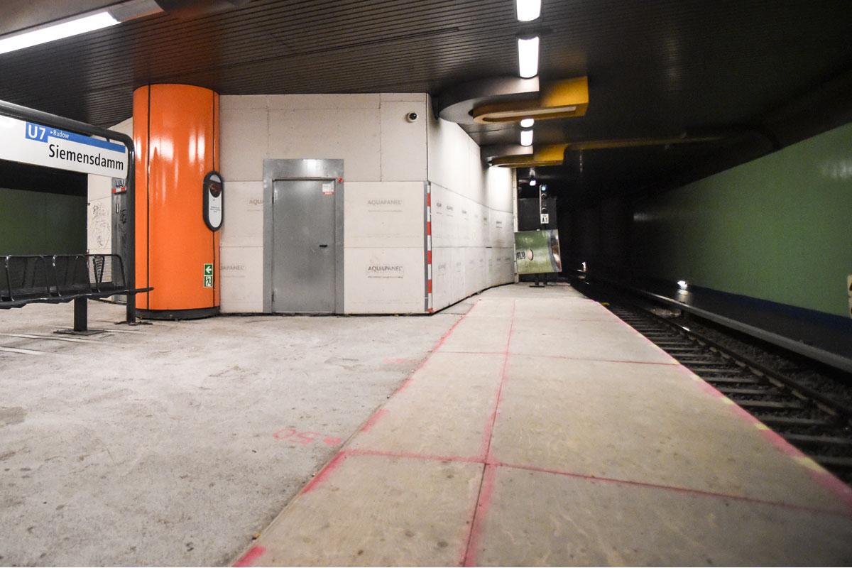 U-Bahnhof Siemensdamm