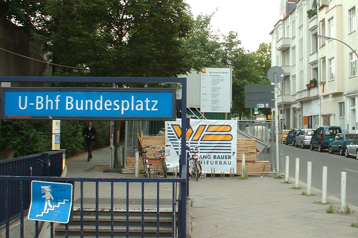 U-Bahnhof Bundesplatz