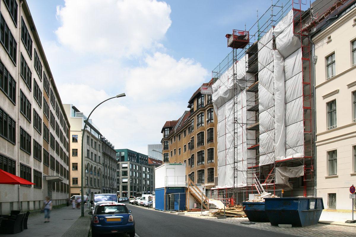 Denkmalensembles Wallstraße